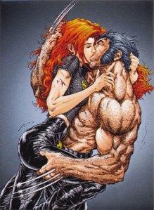 Jean Grey + Wolverine
